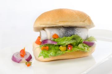 herring sandwiches