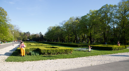 Bucharest parks and gardens - Cismigiu