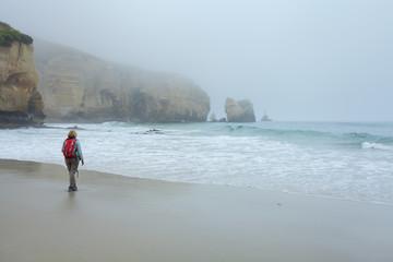 Tunnel Beach, dunedin, neuseeland, wandern