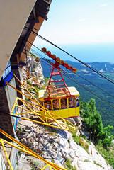 Funicular on Ai-Petri, Crimea
