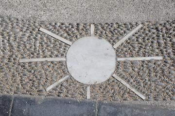 Mosaik 'Sonne'