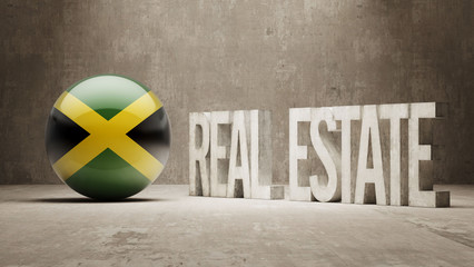 Jamaica. Real Estate Concept.