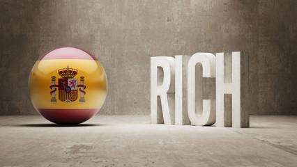 Spain. Rich Concept.