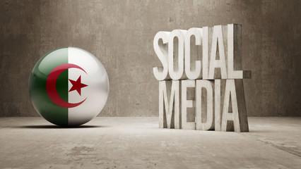 Algeria. Social Media.