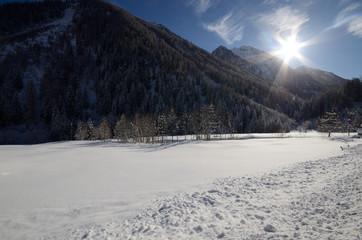inverno montagne neve