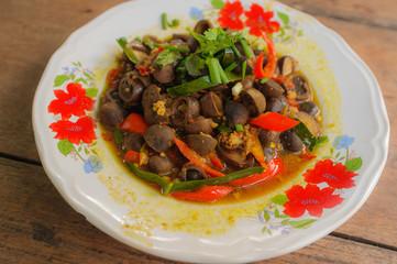 Spicy Stir Fried Mushroom