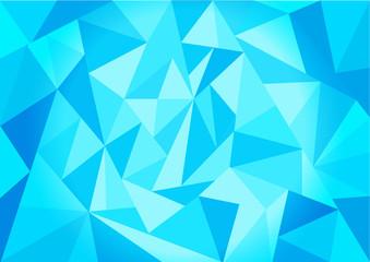 polygon geometric background, blue polygon geometric, low poly