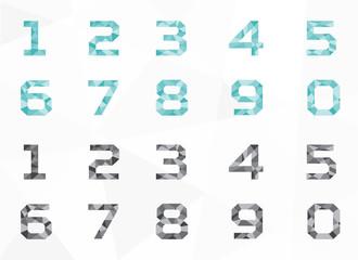 polygon geometric number, geometry number