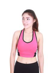 Portrait Fitness Woman