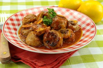 boulettes de veau à la provençale