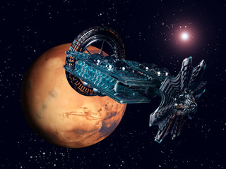 The Flight to Mars