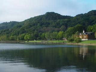 洞爺湖の朝