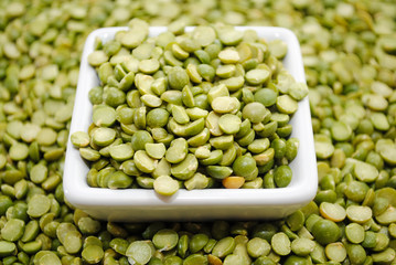 Split Green Peas for a Winter Pot of Soup