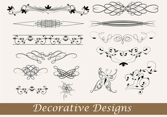 Obraz decorative designs - fototapety do salonu