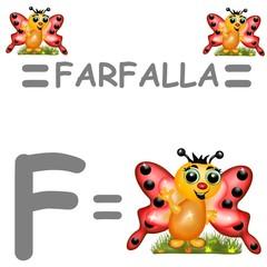 f farfalla