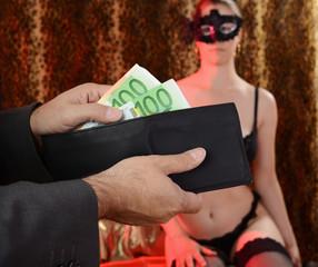 Prostituierte in Bordell erhällt Verdienst