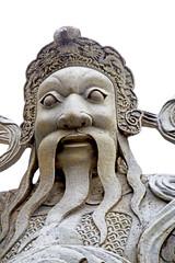 beard    the temple bangkok asia   face   wat  palaces