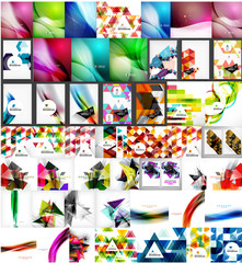 Large super set of abstract backgrounds