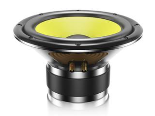 Sound speaker isolated