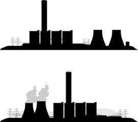 Elektrownia - fototapety na wymiar