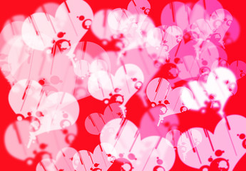 The love bokeh