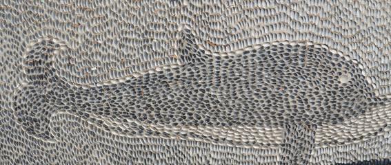 Mosaik 'Delfin'