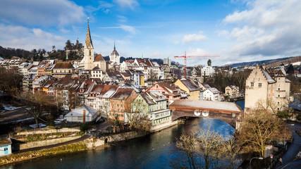 Baden in canton Aargau, Switzerland