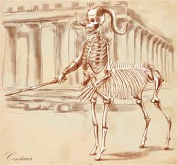 An hand drawn vector, converted: Centaur