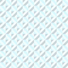 Blue Abstract Rectangle Seamless Pattern