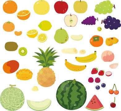いろいろな果物