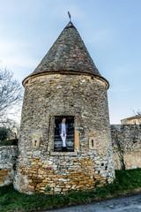 Tour du château de Frontenas
