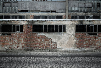 Fototapete - Grunge empty industrial background