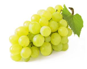 Grapes branch closeup
