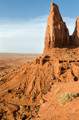 Monument Valley in Arizona in United States