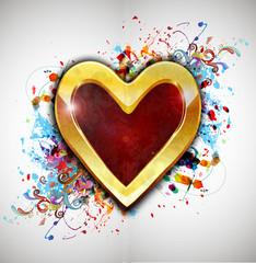 Открытка на день влюбленных