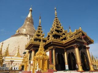 Shwedagon en Myanmar