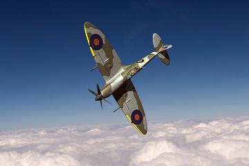 Obraz Supermarine Spitfire - fototapety do salonu