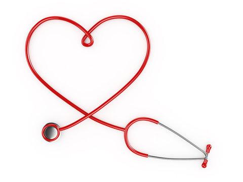 Heart Shaped Stethescope