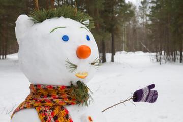 snowman handmade