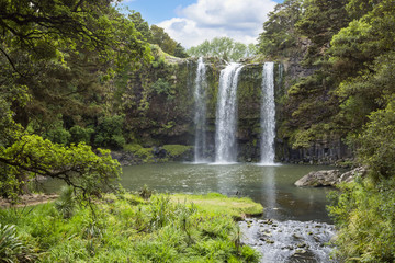 Gorgeous Waterfall in New Zealand