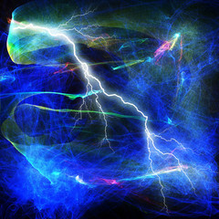 Electric lighting effect, abstract techno backgrounds for your