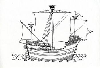 Carrack, 1470