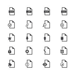File Icon Set-Universal File Icon Set