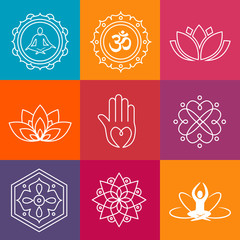 Yoga Icons