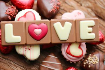 """Love"" chocolate"