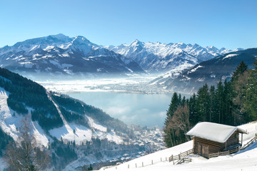 Wall Mural - Zell am See - Panorama view