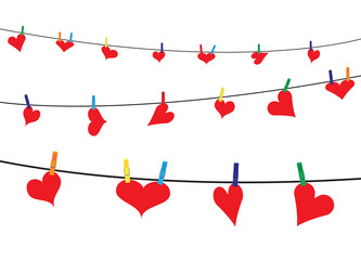 Hearts On The Line In Darkness