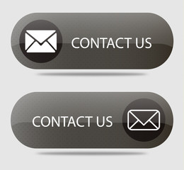 Black contact us buttons