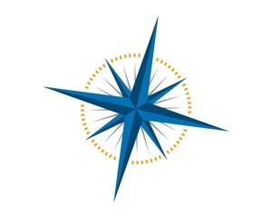 compass logo template v.7