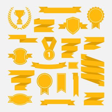 Yellow ribbons set III